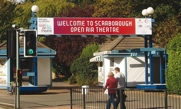 Scarborough Open Air Theatre Signage And Display Case Study